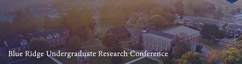 Blue Ridge Undergraduate Research Conference